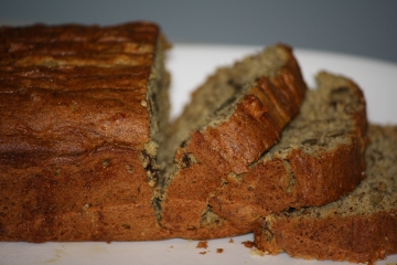 gluten free banana walnut bread