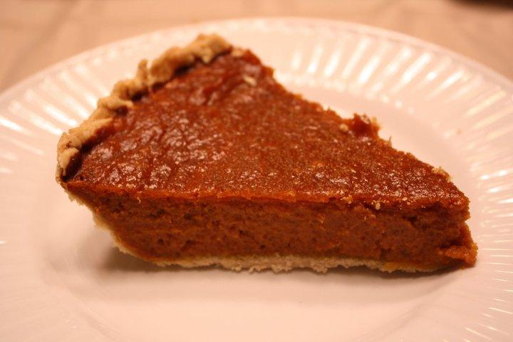 pumkpin pie gluten free dairy free