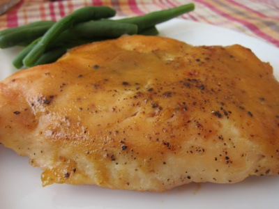 gluten free honey mustard chicken