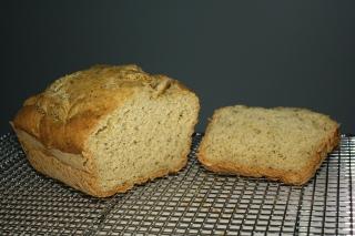 yummy gluten, yeast, dairy free bread
