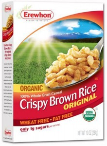 Organic Gluten Free Crispy Brown Rice Cereal