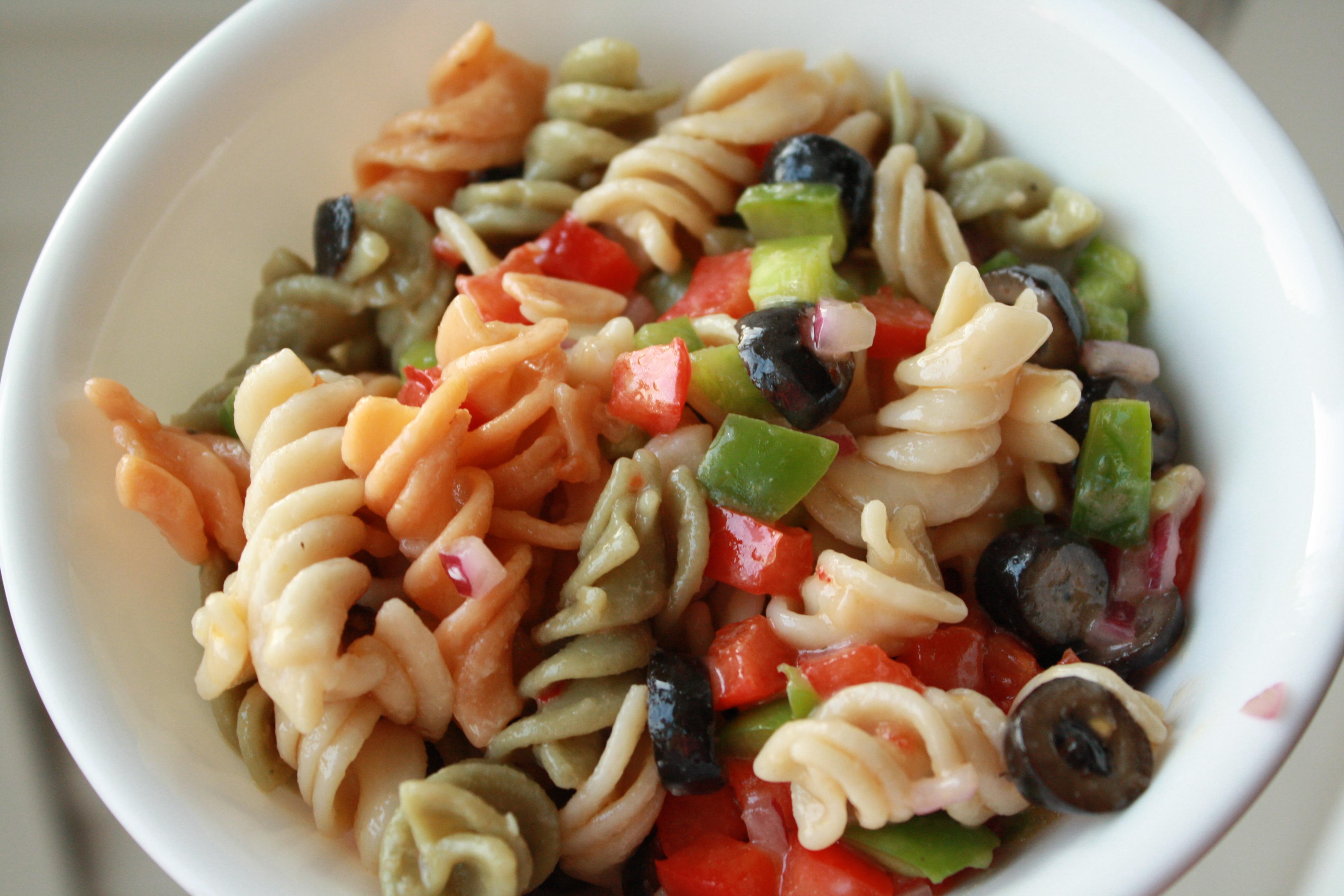 italian gluten free pasta salad