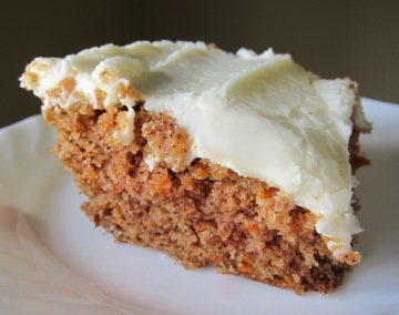 wheat free carrot cake