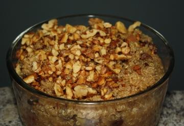 apple cinnamon quinoa