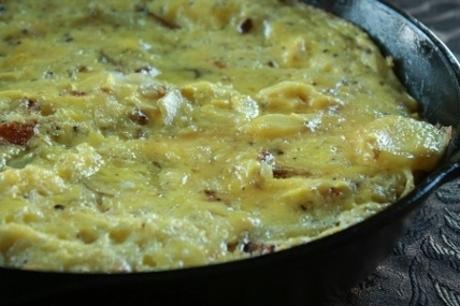 gluten free omlette
