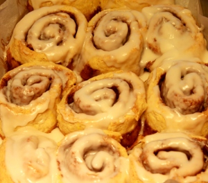 gluten and yeast free cinnamon rolls