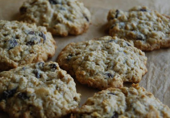gluten free oatmeal cookie